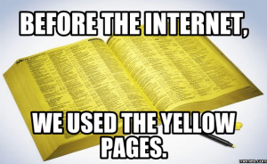 yellow pages websites