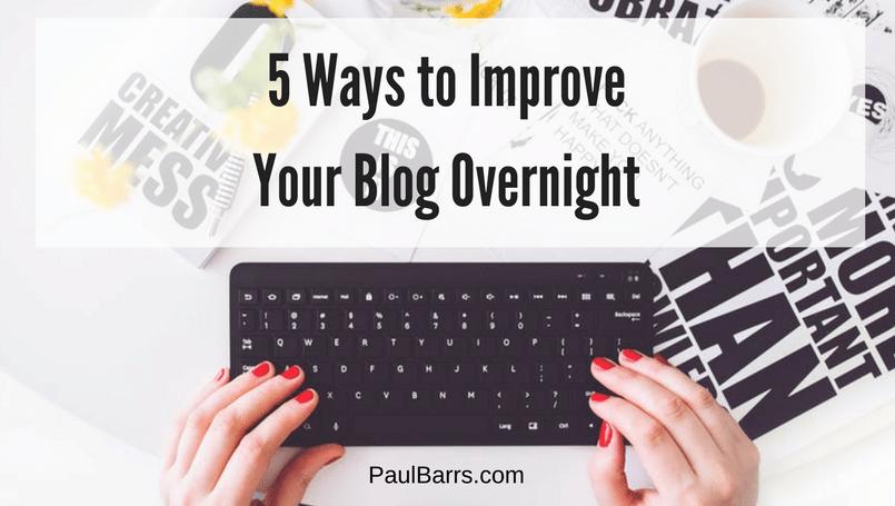 improve-blog-overnight