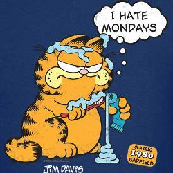 Because Garfield is the original Grumpy Cat!